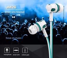 3.5mm Jack SUPER Bass Stereo In-Ear Earphones Headphones Headset Handsfree & Mic