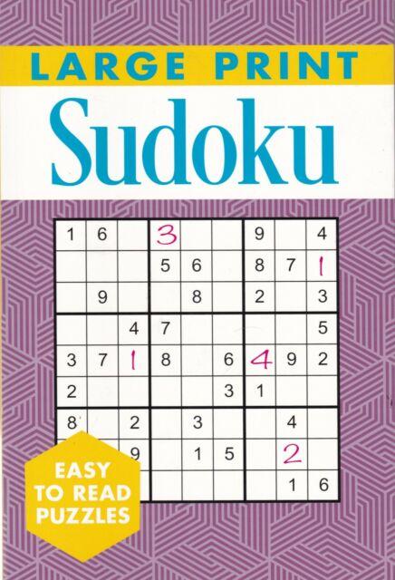 Large Print Sudoku Book Paperback 201 Puzzles 9781788887083