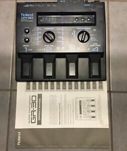 Roland-GR-30-Pro-Gitarre-Midi-Synthesizer-fuer-Guitar-GK2-GK3-Top-Zustand