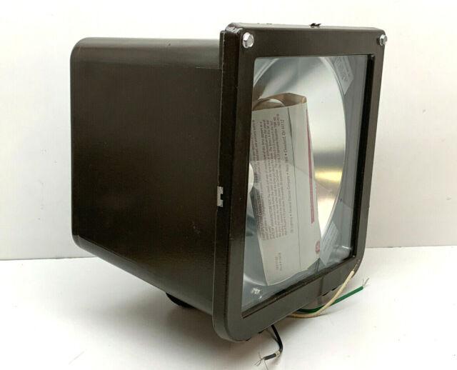 Floodlight Lithonia Lighting 150-Watt Outdoor Bronze High Pressure Sodium Small
