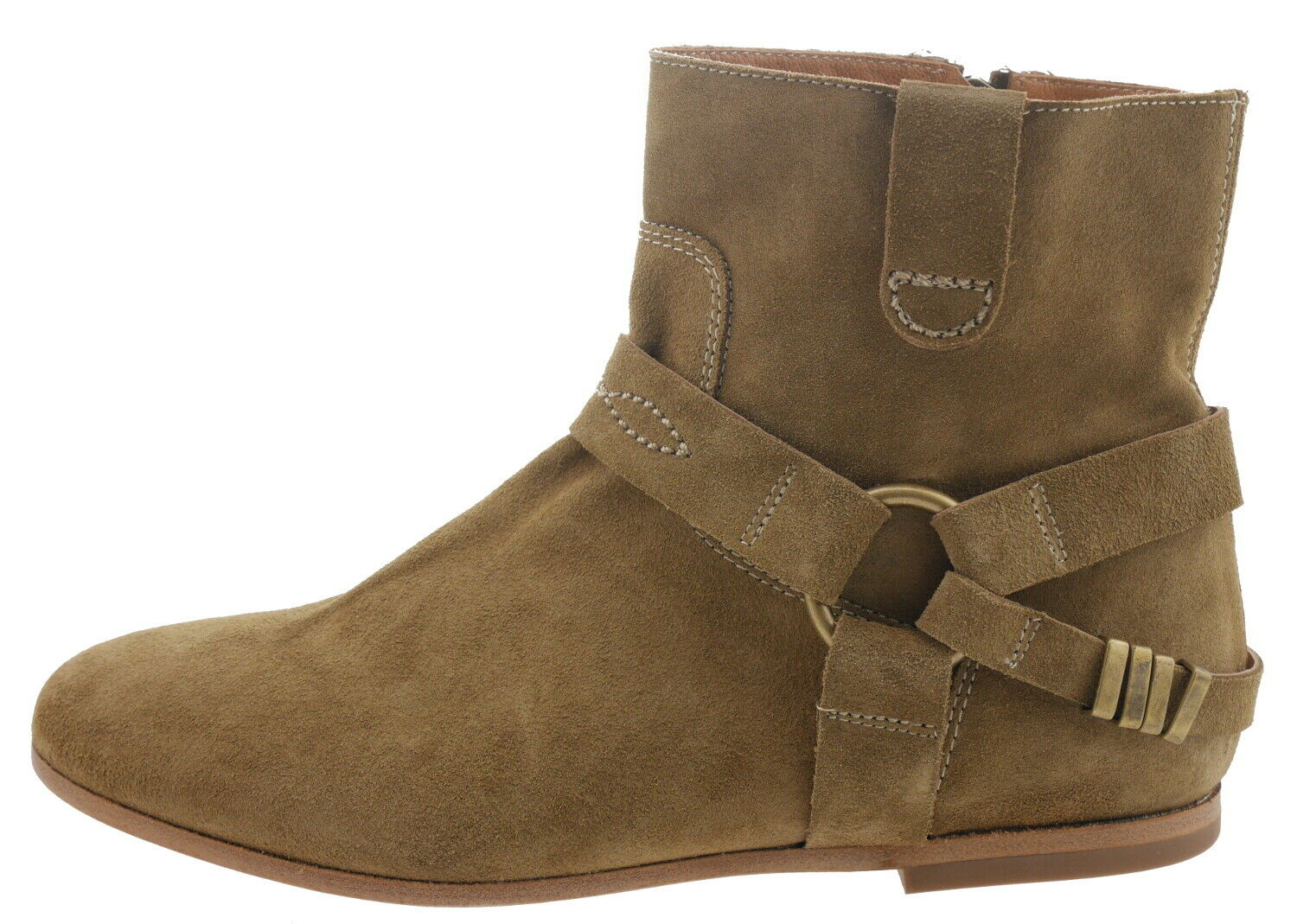 Hakei 15211060341308 Tostado Ankle Boots Leather Brown 179518