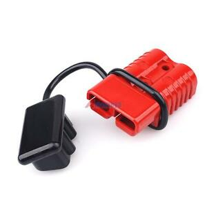 s l300 175a battery quick connect wire winch harness plug connector trailer