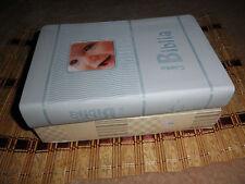 Biblia Para presentación o Dedicación Bebé, niño color azul Reina Valera 1960