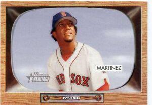 PEDRO-MARTINEZ-2004-Bowman-Heritage-48-Short-Print-SP-Boston-Red-Sox