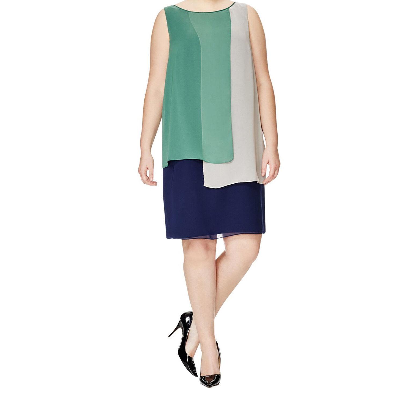 Marina Rinaldi para mujer Vestido de bloque de Color multi  danzare  465 Nuevo con etiquetas  hasta un 65% de descuento