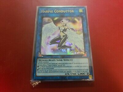 YUGIOH Harpie Conductor Ultra Rare Limited Edition LART-EN026 Sealed