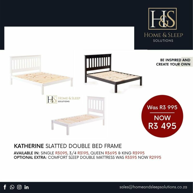 Quality Slatted Bed Frames On Sale Now!