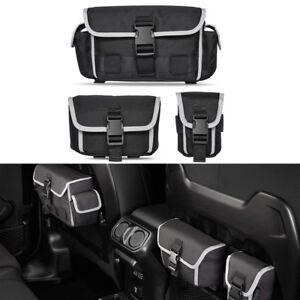 a6eccbb44e Image is loading Back-Seat-Organizer-Tailgate-Cargo-Storage-Bag-For-