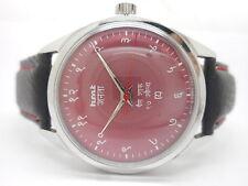 hmt janata hindi hand winding men's vintage india, made watch run-av11