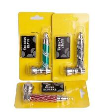 Metal Pipe Rasta Weed Tobacco Smoking Creative Pipes Gift Mill Smoke Narguile