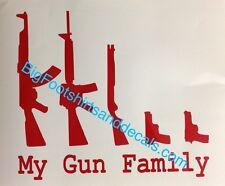 "AK47 Kalashniko Bolt Face Decal Sticker Funny Vinyl Car Window Bumper Truck 9/"""