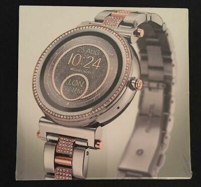 Michael Kors Access, Women's Smartwatch, Sofie Two Tone Stainless Steel, MKT5040 796483378377 | eBay