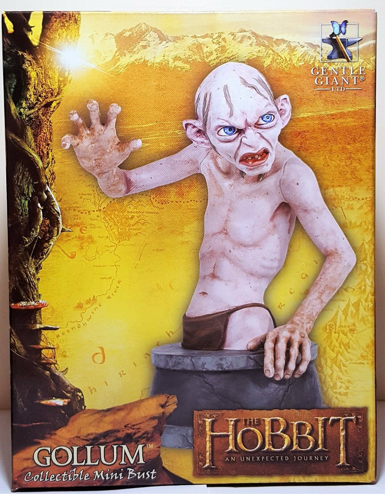 Gollum Collectible Mini autoautobust The Hobbit  An Unexpected  Journey Gentle Giant  negozio di moda in vendita
