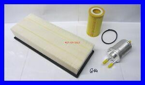 AUDI-TT-2-0-TFSI-Oil-Air-amp-Fuel-Filter-Service-Kit-Genuine-Spec-03-07-06-10