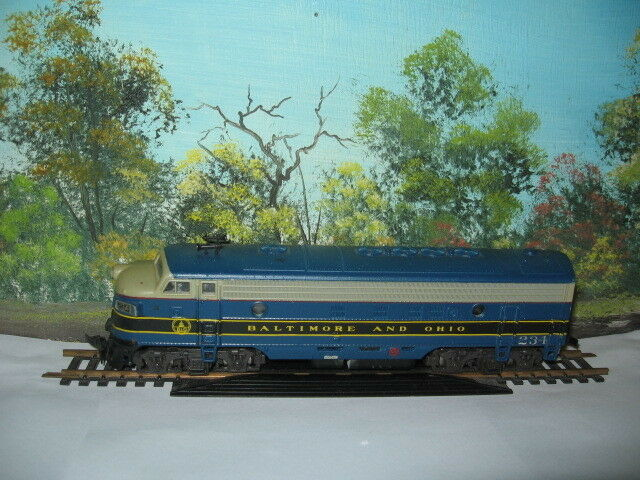 ATLAS HO SCALE F UNIT DIESEL BALTIMORE AND OHIO  234