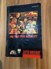 Wwf Raw Super Nintendo Entertainment System 1994 For Sale Online Ebay
