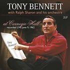 Tony Bennett - at Carnegie Hall 180 Gramm Live June 9 1962 2 Vinyl LP