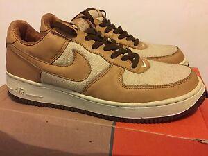 sports shoes c101a a8af5 La foto se está cargando Nike-Air-Force-1-bellota-Grado-B-Natural-