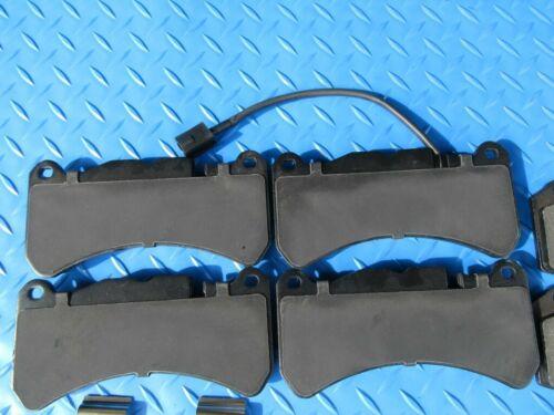 Maserati Ghibli Sq4 S front  rear brake pads brakes  OE FORMULATED #6556