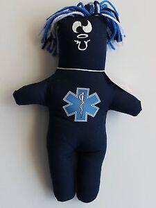 EMT EMERGENCY MEDICAL TECHNICIAN FRUSTRATION Doll dammit Stress Relief dolls
