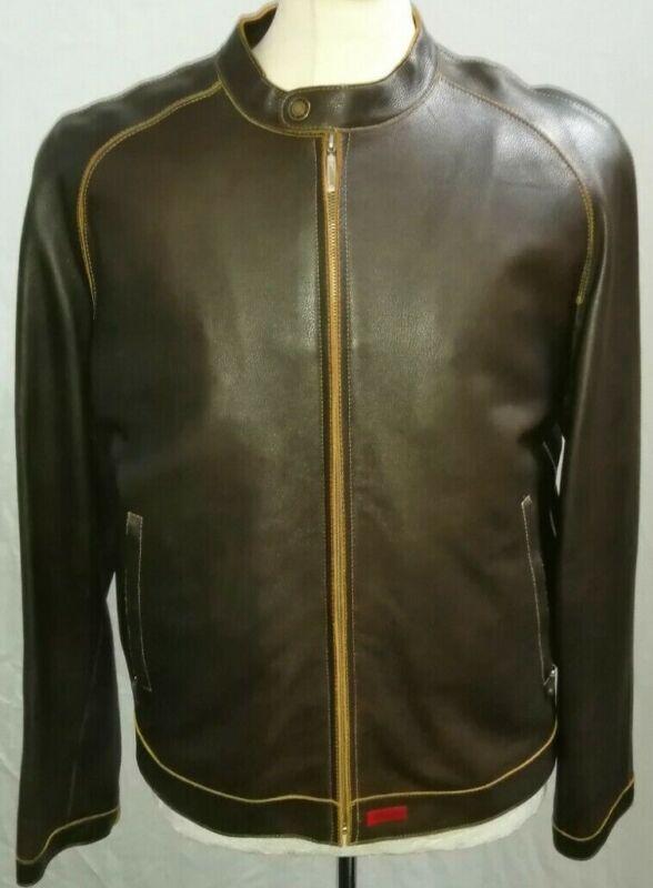 Heavy 100% Genuine Leather Extra Padded Jacket