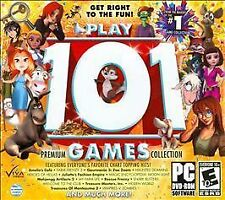 Play 101 Games Jewel Case, Slip Cover (PC, 2012)
