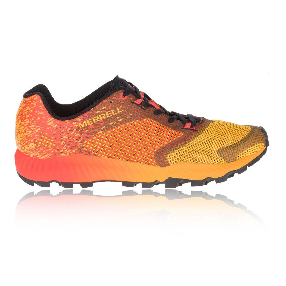 Merrell Mens  All Out Crush 2 Trail Running scarpe Trainers scarpe da ginnastica arancia rosso  compra nuovo economico