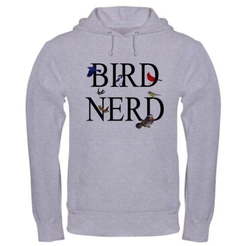Bird Nerd Pullover Hoodie CafePress Classic /& Comfortable Hooded Sweatshirt