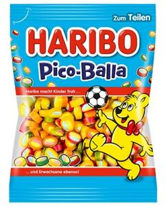 Details about HARIBO - Pico Balla - 175 g bag - German Product