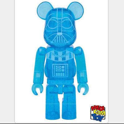TM 400/% Bearbrick Star Wars Medicom Toy BE@RBRICK DARTH VADER HOLOGRAPHIC Ver