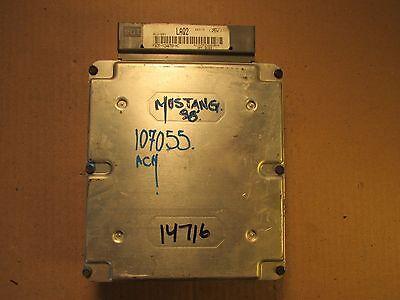 98 FORD MUSTANG 3.8L AT ECU ECM COMPUTER F8ZF-12A650-GB