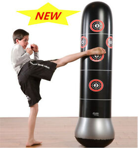 Image Is Loading 160cm Inflatable Training Bop Bag Boxing Tumbler Roly