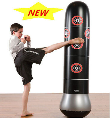 Inflatable Boxing Punching Kick Training MMA Tumbler Bop Bag for Children Adults
