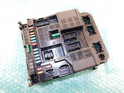 Peugeot 307 Body Control Module BSI Fuse Box 9644097980 9636760580E | eBay