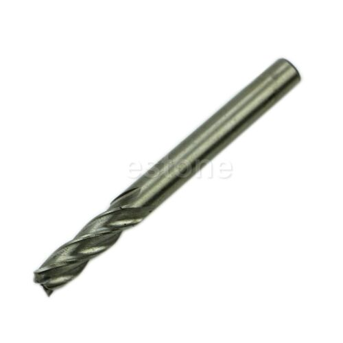 New HSS CNC Straight Shank 4 Flute End Mill Cutter Drill Bit Tool 6mm
