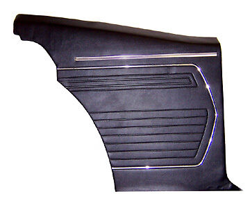 1969 Camaro Coupe Assembled Inner Rear Panels 69 Inside