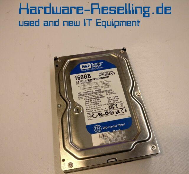 """WD Western 160 GB 7200 RPM 3,5 """" SATA HDD WD1600AAJS-00M0A0"""