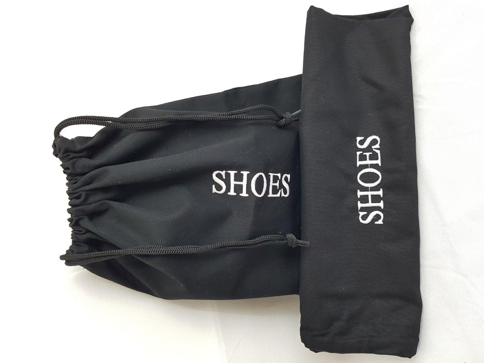 5pcs coton Sèche-cheveux Sac de rangement brodé pour Bagage Voyage Sèche-cheveux sac