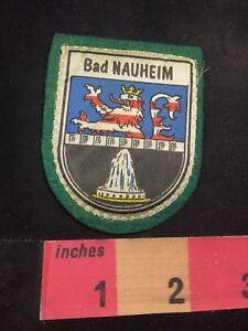 Germany Patch BAD NAUHEIM Coat Of Arms w/ Felt Back C893 ...