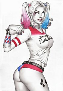Harley quinn sexy magnet 54 ebay for Tattoo punk porn