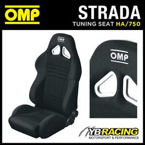 HA-750-N-OMP-ROAD-SEAT-039-STRADA-039-RECLINING-SPORT-BUCKET-RECLINER-QUICK-TILT-BLACK