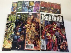 Invincible Iron Man 1-11 Complete Comic Lot Run Set Ironheart Marvel Bendis