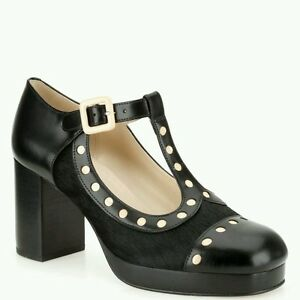 Platform Natale di Dotty 3 Nuovo Size Womens Kiely regalo Platform Black Orla Shoes RxXTwfgqOy