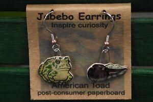 Jabebo Earrings American Woodcock Timberdoodle