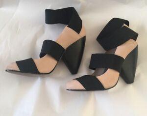 Cuban Style Girl Bnwb Leather 99 Ladies 3 Size Chelsea Rrp Heel High scarpe £54 fqItwxd