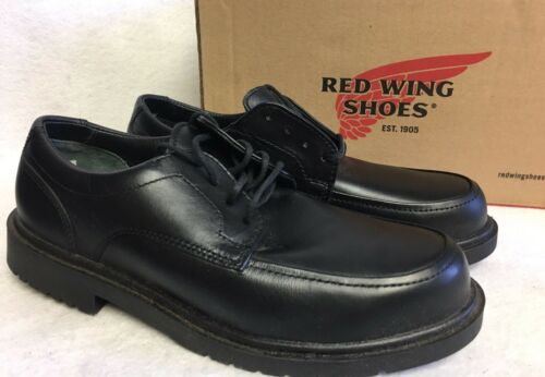 Red Wing Steel Toe Black Rio Grande Leather Oxford Work Shoes Men/'s 6612 Lace Up