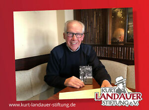 Autogrammkarte Conny Torstensson -  Kurt Landauer Stiftung