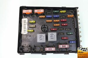 2011 volkswagen cc sport fusebox fuse box relay unit module 3c0 image is loading 2011 volkswagen cc sport fusebox fuse box relay