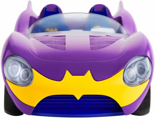 DC  Comics Superhero Girls Batgirl Doll /& Batmobile FTF36