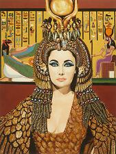 ELIZABETH TAYLOR - CLEOPATRA - FINE ART PRINT POSTER 13x19 - MOVIE KBA008